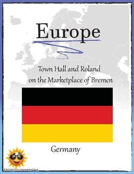 (EUROPE)Town Hall and Roland on the Marketplace of Bremen Germany Research Guide