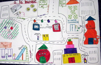 Town Maps in French