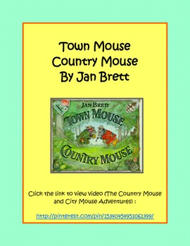 Town Mouse City Mouse