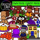 Town Mouse Country Mouse {Creative Clips Digital Clipart}