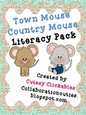 Town Mouse Country Mouse Literacy Pack