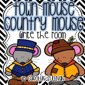 Town Mouse Country Mouse Write the Room