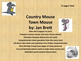 Town Mouse & Country Mouse  by Jan Brett........Reading Comprehension