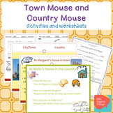 Town Mouse and Country Mouse vocabulary PP and review worksheets