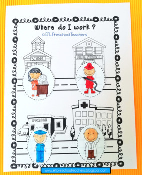 Town Theme Activities for Preschool ELL