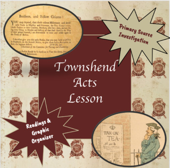 Quartering and Townshend Acts Complete Lesson
