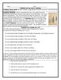 Townshend Acts and Writs of Assistance Worksheet with Answer Key