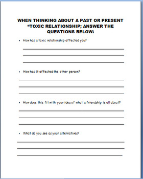 """Toxic Friendships- """"Frenemies""""-lesson, 3 activities"""
