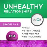 Toxic Relationships Middle School Mental Health Mini-Unit   Prezi & Printables