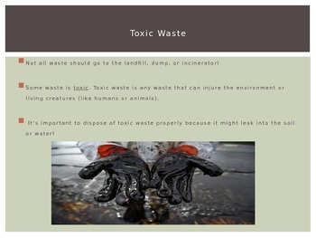 Toxic Waste and Our World