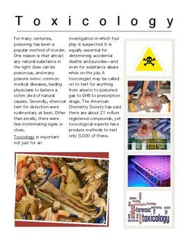 Toxicology w/key