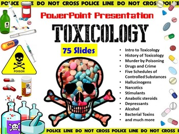Toxicology PowerPoint Presentation - Forensic Science