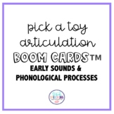 Toy Articulation: Early Sounds & Phonological Processes Bo