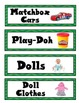 Toy Bin Label FREEBIE