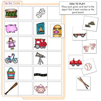 Toy Box Tumble File Folder Game Download