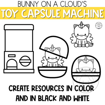 Toy Capsule Machine by Bunny On A Cloud