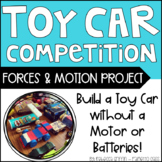 Toy Car Competition - Forces and Motion Project