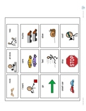 Toy Cars AAC/Communication Board