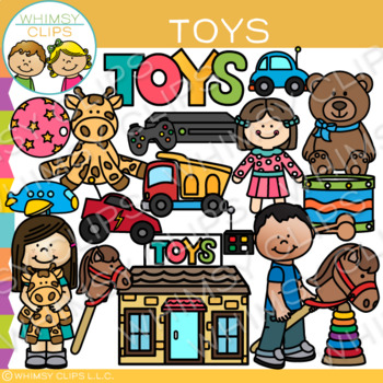 Toy Clip Art