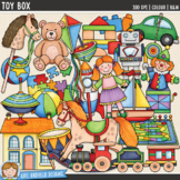 Toy Clip Art: Toy Box