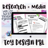 ELA Project-Based Learning Toy Creation Unit (Research, Wr