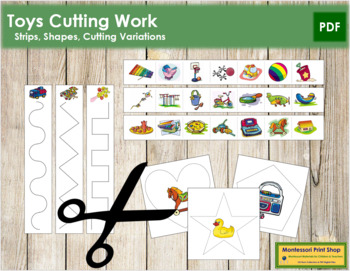 Toy Cutting Strips