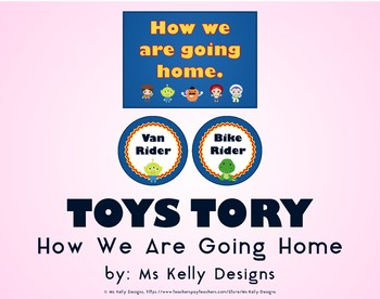 Toy How We Are Going Home Story System