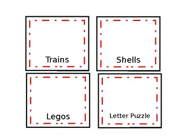 Toy Labels - Editable
