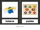 Toy Labels for Pre-K Classroom