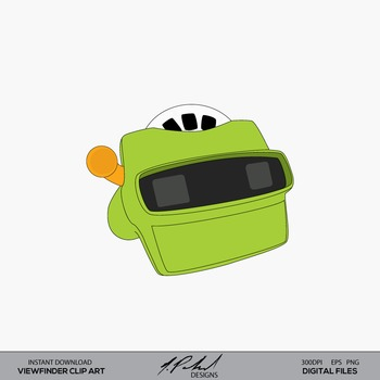 Toy Reel Viewer - Virtual Reality Viewer - Toy Photo Viewer digital clip art