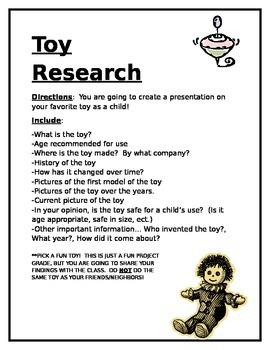 Toy Research