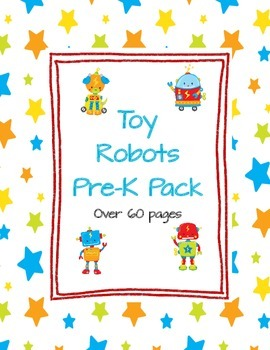 Toy Robot Pre-K Pack
