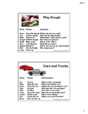 Toy Scripts for Speech Therapy