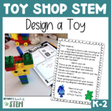 Toy Shop STEM: Engineering Design Process to build a Toy {