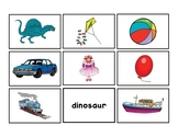 Toy Shop. Vocabulary Matching. Literacy Centers BUNDLE