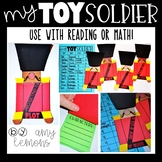 Toy Soldier:  Use for Math or Reading!