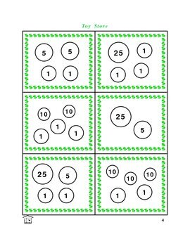 Toy Store money counting game