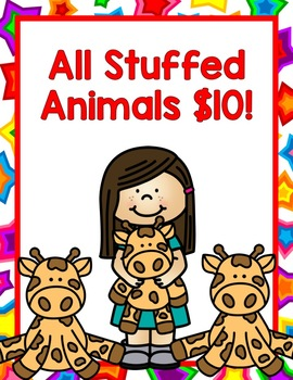 Toy Store Dramatic Play:  Signs, Props, & MORE!