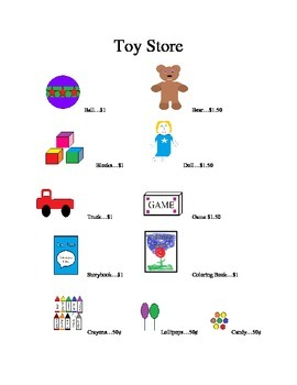 Toy Store Math