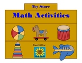Toy Store Math Activities: Counting Pennies