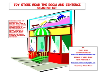 Toy Store Read the room Kit