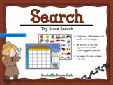 Toy Store Search Game (Battleship Style, Customizable, Pri