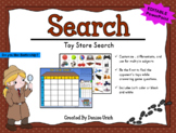 Toy Store Search Game (Battleship inspired, Editable, & Pr