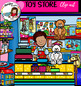 Toy Store clip art  set