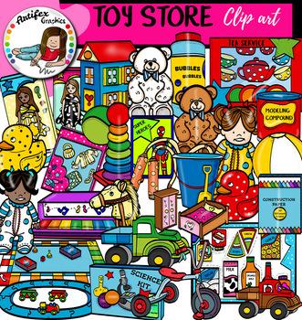 Toy Store clip art  set- Big set of 69 graphics!