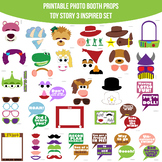 Toy Story 3 Inspired Photo Booth Prop Set