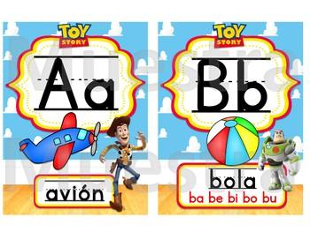 Toy Story ABC (Spanish)