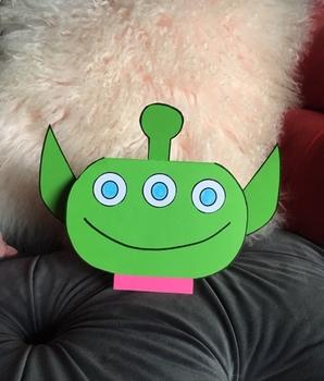 Toy Story Alien Card Art Project