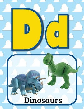 Toy Story Alphabet Posters