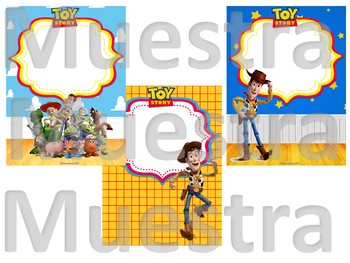 Toy Story Binder covers